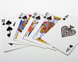 ギャンブルをするためのトランプ